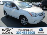 2013 Pearl White Nissan Rogue S AWD #114837871
