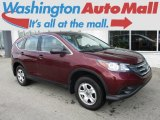 2013 Basque Red Pearl II Honda CR-V LX AWD #114837730