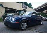2005 Jaguar X-Type Pacific Blue Metallic