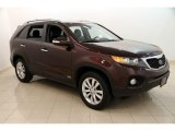 2011 Dark Cherry Kia Sorento EX AWD #114837936