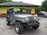 1991 Jeep Wrangler Dark Silver Metallic