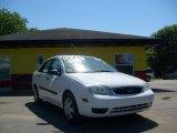 2005 Cloud 9 White Ford Focus ZX4 S Sedan #11480528