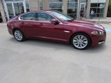 2013 Carnelian Red Metallic Jaguar XF 3.0 #114864392