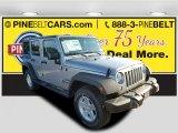 2016 Billet Silver Metallic Jeep Wrangler Unlimited Willys Wheeler 4x4 #114887443
