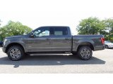 2016 Magnetic Ford F150 XLT SuperCab 4x4 #114901523