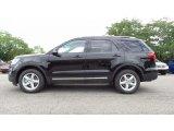 2017 Shadow Black Ford Explorer XLT 4WD #114922601
