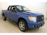 2014 Blue Flame Ford F150 STX SuperCab 4x4 #114947965