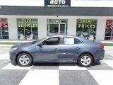 2013 Blue Topaz Metallic Chevrolet Malibu LS #114947920