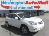 2013 Pearl White Nissan Rogue SV AWD #114947802