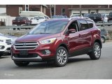 2017 Ruby Red Ford Escape Titanium 4WD #114947848