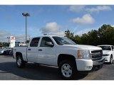 2009 Summit White Chevrolet Silverado 1500 LT Crew Cab 4x4 #114947844
