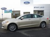 2017 White Gold Ford Fusion SE #114948007