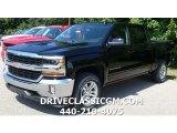 2017 Black Chevrolet Silverado 1500 LT Crew Cab 4x4 #114947947