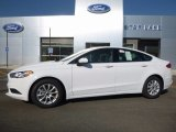 2017 Oxford White Ford Fusion S #114948006