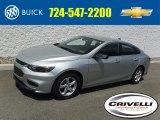 2016 Silver Ice Metallic Chevrolet Malibu LS #114975723