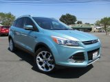 2013 Frosted Glass Metallic Ford Escape Titanium 2.0L EcoBoost 4WD #114975716