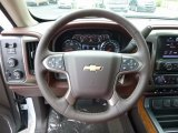 2017 Chevrolet Silverado 1500 High Country Crew Cab 4x4 Steering Wheel