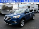 2017 Lightning Blue Ford Escape SE #114975432