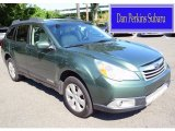 2012 Cypress Green Pearl Subaru Outback 2.5i Limited #115001654