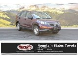 2012 Basque Red Pearl II Honda CR-V LX 4WD #115001700