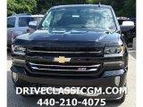 2017 Black Chevrolet Silverado 1500 LTZ Crew Cab 4x4 #115001922