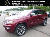 2017 Velvet Red Pearl Jeep Grand Cherokee Overland 4x4 #115027485