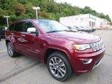 2017 Jeep Grand Cherokee Velvet Red Pearl