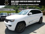 2017 Bright White Jeep Grand Cherokee Limited 75th Annivesary Edition 4x4 #115027484