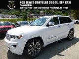 2017 Bright White Jeep Grand Cherokee Overland 4x4 #115027483