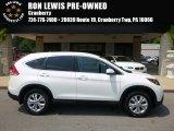 2014 White Diamond Pearl Honda CR-V EX-L AWD #115027406