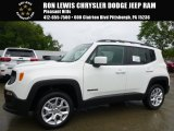 2016 Alpine White Jeep Renegade Latitude 4x4 #115047602