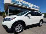 2014 White Diamond Pearl Honda CR-V EX AWD #115067741