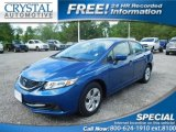 2015 Dyno Blue Pearl Honda Civic LX Sedan #115067902