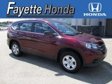 2013 Basque Red Pearl II Honda CR-V LX AWD #115067900