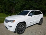 2017 Bright White Jeep Grand Cherokee Overland 4x4 #115067757