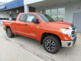 2016 Toyota Tundra Inferno Orange