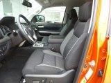 2016 Toyota Tundra SR5 Double Cab 4x4 Graphite Interior