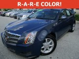 2009 Blue Diamond Tri-Coat Cadillac CTS Sedan #115102857
