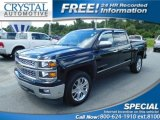 2014 Black Chevrolet Silverado 1500 LT Crew Cab #115128474