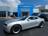 2012 Silver Ice Metallic Chevrolet Camaro LS Coupe #115128335