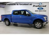 2016 Blue Flame Ford F150 XLT SuperCrew 4x4 #115127986