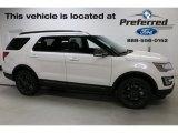 2017 Oxford White Ford Explorer XLT 4WD #115127961