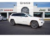 2017 Ivory Tri-Coat Jeep Grand Cherokee Overland #115164555