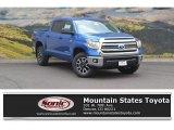 2016 Blazing Blue Pearl Toyota Tundra SR5 CrewMax 4x4 #115164384