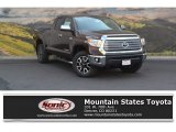2016 Sunset Bronze Mica Toyota Tundra Limited Double Cab 4x4 #115164376