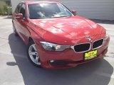 2014 Melbourne Red Metallic BMW 3 Series 320i Sedan #115164578