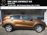 2017 Burnished Copper Kia Sportage LX AWD #115164469