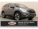 2016 Modern Steel Metallic Honda CR-V Touring #115164406