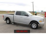 2012 Bright Silver Metallic Dodge Ram 1500 SLT Quad Cab #115164738