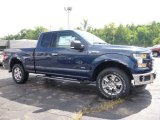 2016 Blue Jeans Ford F150 Lariat SuperCab 4x4 #115164507